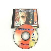 Homeworld 2 (PC, 2003) Computer Game with CD Key Sierra PC CD Rom Software