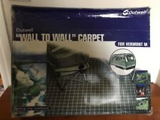 Outwell Vermont M Brand New Tent Green Carpet Camping
