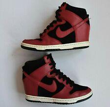 Nike Dunk Sky Hi WMNS 528899-016 Hidden Wedge Sneakers Leather Womens US 7.5