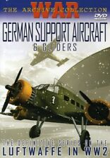 German Support Aircraft & Gliders [New DVD] Black & White