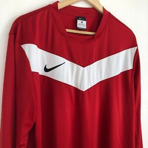 Nike Men's Victory Shirt Game Jersey - XL - Red - Long Sleeve