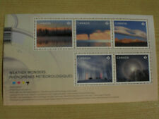 Canada 2018 MNH Weather Wonders 5v M/S Science Clouds Trees Nature Stamps
