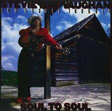 STEVIE RAY VAUGHAN - SOUL TO SOUL  VINYL LP NEUF