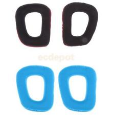 Pair Durable Replacement Headphone Ear Pads Soft for Logitech G35 G930 G430