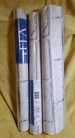 3 rolls WHITE BRICK WALLPAPER - ARTHOUSE VIP 623004 - NEW
