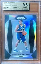 2017 Prizm Donovan Mitchell Rc Rookie Silver BGS9.5!