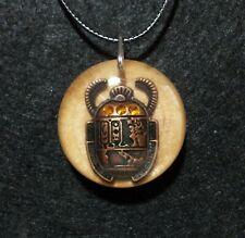 Egyptian Scarab Beetle Necklace,Egypt,Holy Beetle Pendant,Symbolic Jewellery