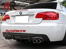 DP Type Carbon Fiber Diffuser For BMW E92 E93 3 Series M Tech 2007-2013 Quad Tip