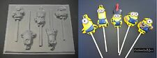 MINIONS II Chocolate Candy Lollipop Soap Mold