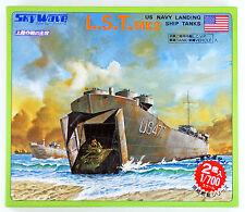 Pit-Road Skywave SW-04 U.S. Navy Landing Ship Tanks L.S.T MK2 1/700 scale kit