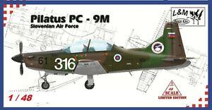 L&M resin kits 1/48 + PC-9M Slovenian AF + bonus