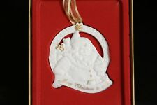 """Wedgwood """"Merry Christmas to All!� Santa Claus Ornament New"""