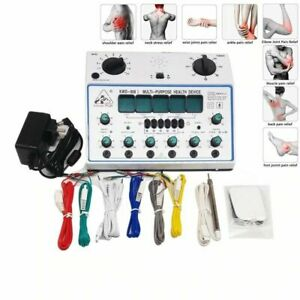 Electric Acupuncture Stimulator Machine 6 Channel Output Massager Full Body Care