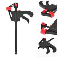 4 inch Woodworking Bar F Clamp Clip Grip Ratchet Release DIY Carpentry Hand Tool