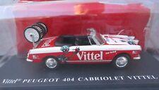 Ixo 1/43 - Tour de France véhicule publicitaire - Peugeot 404 cabriolet Vittel