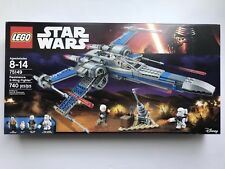 LEGO Star Wars 75149 Blue X-Wing Resistance Fighter - New Sealed