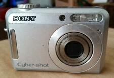 Sony Cyber Shot Digital Camera DSC S650 Silver Body 7.2 Mega Pixels