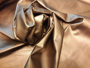 COWHIDE GENUINE LEATHER AMERICAN BEAUTIFUL MAT GOLD HIDE DIFFERENT SIZES