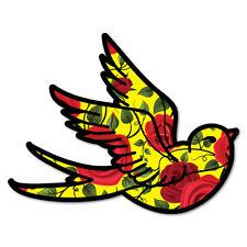 Swallow Bird Rose Sticker Tattoo Art Sailor  #6936LS
