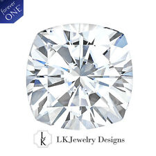 1.10 Ct Moissanite Forever One Cushion Loose Stone - From Charles and Colvard
