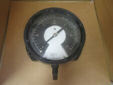 "Ashcroft Pressure Gauge 0-30 PSI Q-8451 1/4"" NPT 5- 3/8"" Face Used"