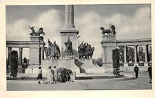 B35819 Budapest the Millenium Monument and tomb of unknow soldier  hungary