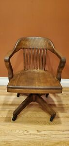 B.L. MARBLE BANKER'S CHAIR (SWIVELS AND TILTS)