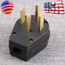 Industrial Grade NEMA 14-50p 50A 125V Straight Blade US Four Holes Plug USA ship