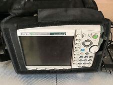 Anritsu MS2721B Handheld Spectrum Analyzer 9kHz to 7.1GHz option 20 Tracking Gen