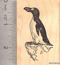 Great Auk Extinct  Bird Rubber Stamp H13203