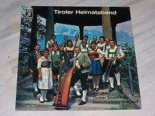 TIROLER ENSEMBLE GESCHWISTER GUNDOLF - Tiroler Heimatabend / Rare 71er EMI - LP