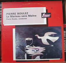 PIERRE BOULEZ LE MARTEAU SANS MAÎTRE US PRESS LP  TURNABOUT
