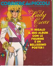 CORRIERE DEI PICCOLI N° 44 anno 1982 con poster LADY OSCAR + allegato
