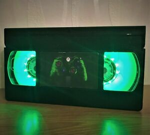 Xbox Controller VHS Night Light, PlayStation, Computer Game, Desk Lamp, Kids