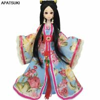 Ancient Costume Dress For Barbie Dolls Outfits Clothes for 1/6 BJD Dollhouse Kid