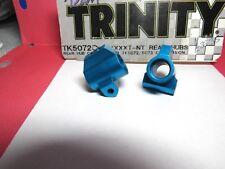 Trinity Tk5072 Blue Anodized Rear Hub Caarriers for Tk5072/5073 Conversion 2Pcs