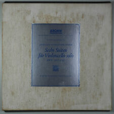 Bach, Six Suites for cello solo  / Pierre Fournier,cello / 3LP BOX / Listen!