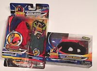 NIP Kung Zhu Black Battle Hamster Drayko & Ninja Warriors Armor with Sounds