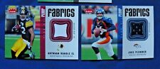 2006 Fleer Fabrics Game-Used complete your set $1 S&H NFL football