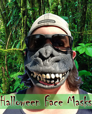Scary Fun 3D Halloween Gorilla Monkey Ape Party Face Mask Pocket Filter Spooky