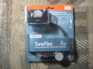 GRIFFIN TuneFlex 5G IPOD CAR Charger & Cradle 6090-5GTFLXAUX