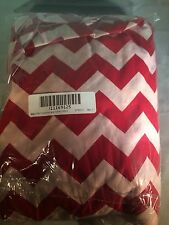 Baby Doll Chevron and Solid Crib Sheets, Red/Pink