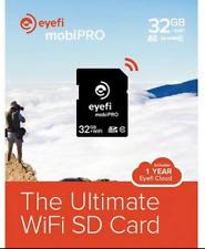 NEW Eye-Fi Mobi PRO 32GB WiFi SDHC CARD EyeFi SD Card  Wi-Fi CLASS 10