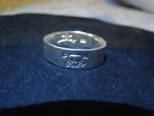NEW PURE SILVER .999 BULLION SZ9-13 MENS SKULL RING JOEY NICKS ANARCHY JEWELRY A