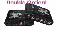 Digital DTS/AC3 Dual-Optical SPDIF to 5.1-Analog Audio Dolby Gear Sound Decoder