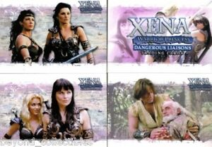 XENA - DANGEROUS LIAISONS - RITTENHOUSE - COMPLETE BASE TRADING CARD SET OF 72
