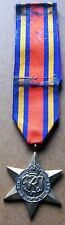 Burma    Star    World    War   II   Medal    With    Ribbon   Full  Size  Medal