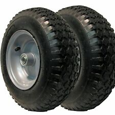 2) 4.10x3.50-6 TIRE RIM WHEEL for some Yard Carts Go Karts Riding Lawn Mowers