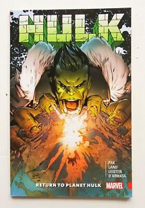 Hulk Return To Planet Hulk Marvel Graphic Novel Comic Book