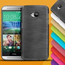 Handy Hülle für HTC Case Cover Schutz Tasche Slim Silikon TPU Bumper Glitzer